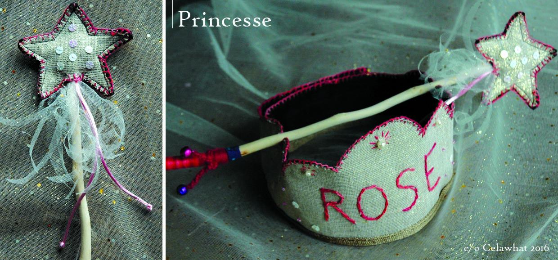 baguette et couronne princesse blog