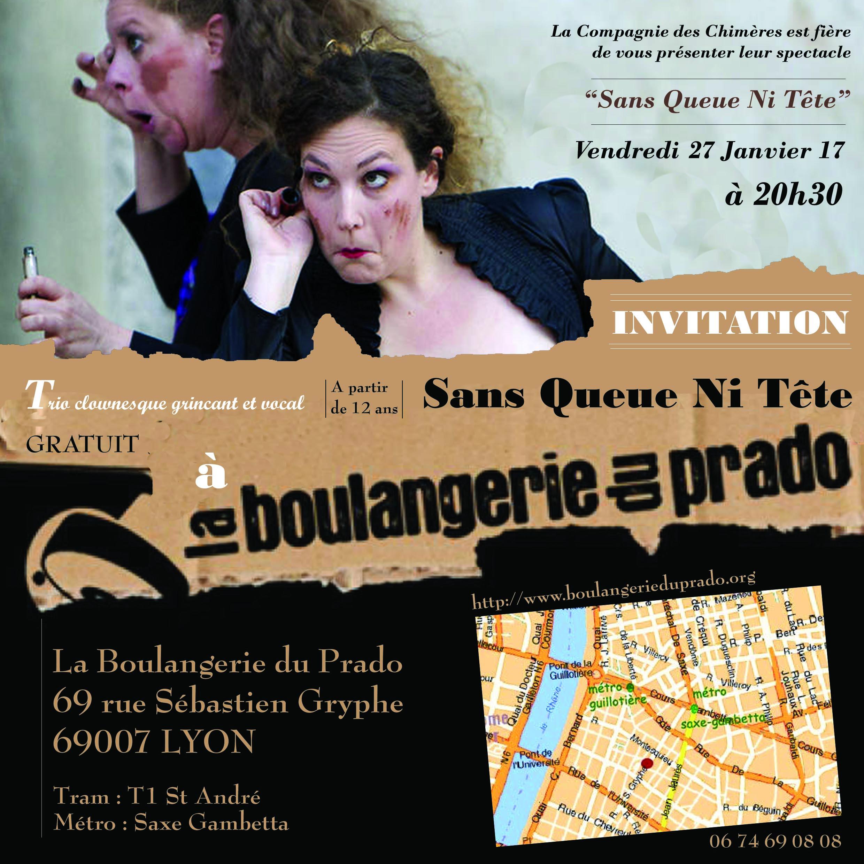 invitation SQNT Boulangerie du prado 27 janvier